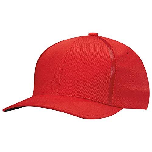 adidas Golf 2017 Tour Delta Textured Hat Crestable (Scarlet - L/XL) ()