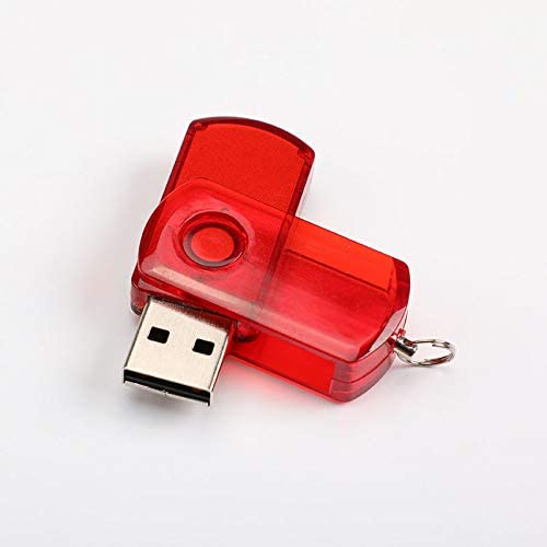 2GB 8GB WDOIT 1 Pc 2GB Red 32GB Creative Flash Drive 2.0 USB Rotating Style Flash Drive Pen Drive Data Storage Memory Stick USB Stick 16GB 4GB