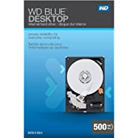 WD Blue Desktop 500GB SATA 3.0 GB/s 7200 RPM 16MB cache 3.5-Inch Internal Desktop Hard Drive Retail Kit