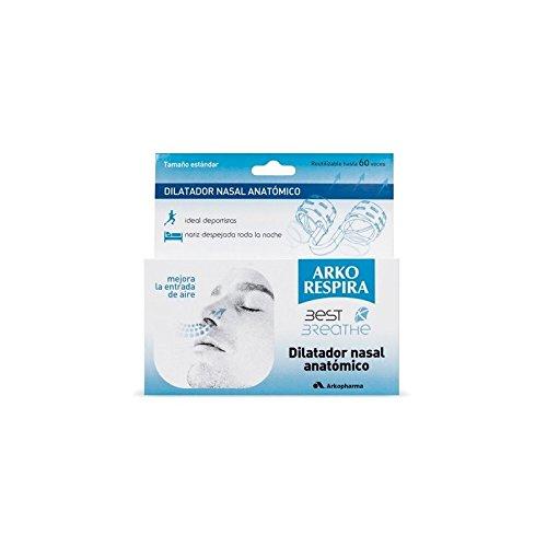 Arkopharma Arko Respira Best Breath Dilatador + Filtro Nasal Incluye 30 Filtros