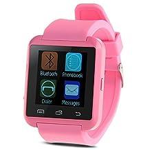 Padgene Bluetooth 4.0 Smart Watch for Smartphones - Pink