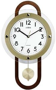 Vedette VP40023 - Reloj de pared de péndulo analógico de cuarzo