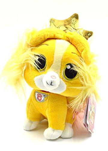 Palace Pets Disney Furry Tail Teacup Princess Bell Plush Stuffed Animal Dog Toy