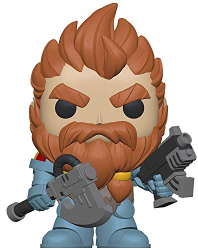 LAST LEVEL- Funko Pack Figura Pop Warhammer 40K Space Wolves Leader, Multicolor, One-Size (FFK38327)