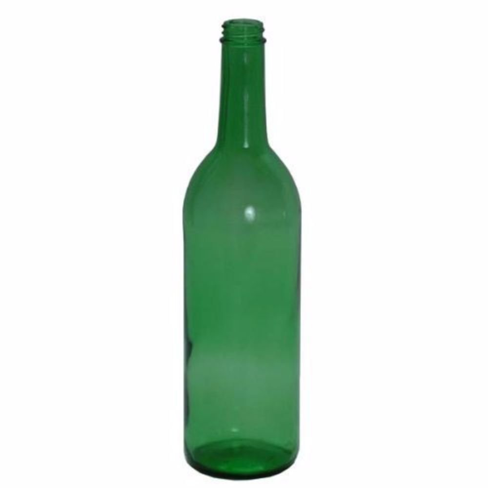 Midwest Homebrewing and Winemaking Supplies HOZQ8-880 Glass Claret Bottles, Screw Top, 750 mL, Green