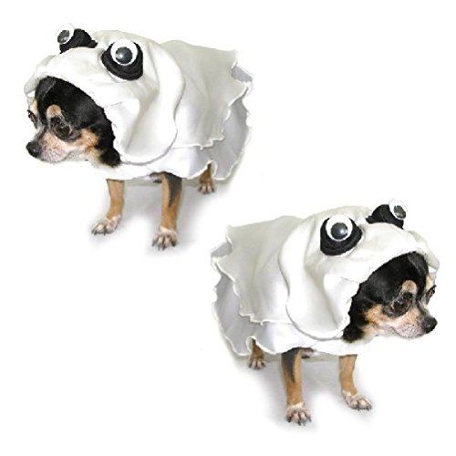 Dog Costume Ghost Costumes-Dress Your Dogs Like Scary Ghosts by Defonia Petsupplies