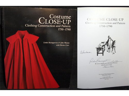 Costume Close-Up: Clothing Construction and Pattern 1750 - (Colonial Costume Pattern Free)