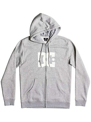 DC Hoodie mit Reissverschluss Star Grau Grau-weiß