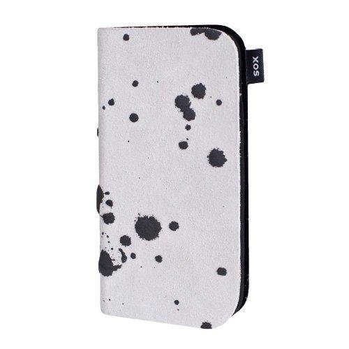 SOX KBSL 03 IP4 SOX Booky Splosh Leder Weiß für Apple iPhone 4 / 4S SOX KBSL 03 IP4