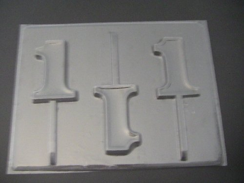 number 1 candy mold - 9