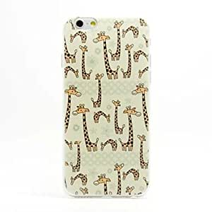 DUR Specially Designed Pattern TPU Cover for iPhone 6