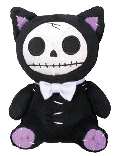 Black Mao-Mao Cat Furry Bones Small Soft Plush Doll