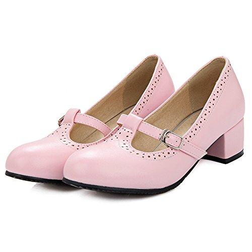 Pink Dolce TAOFFEN Strap Scarpe Tacco Donna Scarpe Basso Pompe Stringate T vnR6gqawn