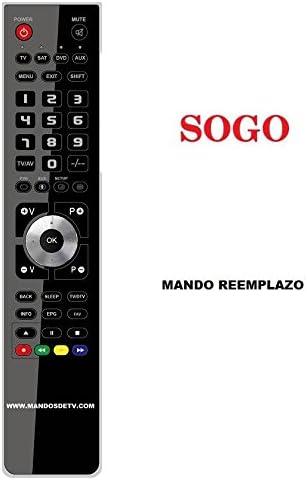 Mando Sat/DTT SOGO SS4807: Amazon.es: Electrónica