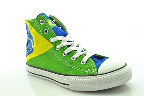 Converse All Star Hi Canvas Graphics 343772c Bo Jungen Moda Schuhe 12,5 C