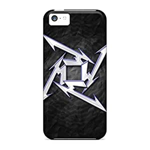 High Quality mobile phone carrying shells Cases Covers For Iphone covers protection iphone 6 plus 5.5 /6 plus 5.5s - metallica star