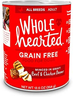 WholeHearted Grain-Free Adult Beef and Chicken Dinner Wet Dog Food