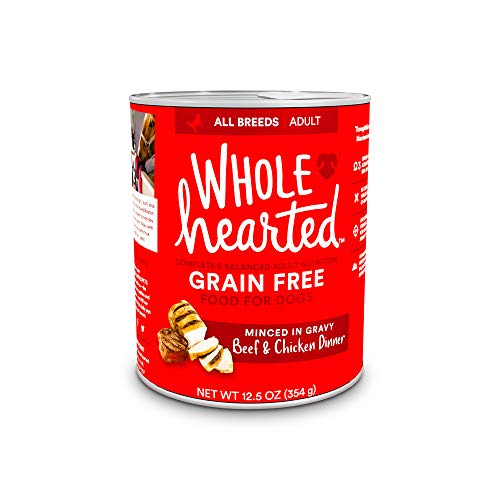 WholeHearted Grain-Free Adult Beef and Chicken...