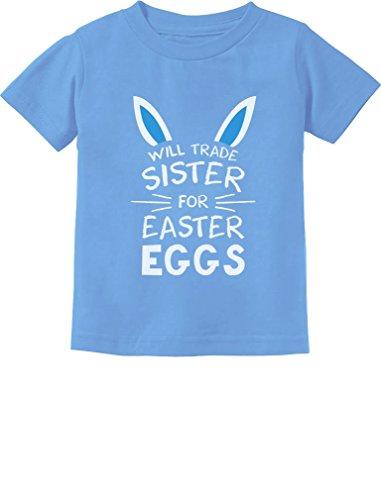 Trade Sister for Easter Eggs Funny Siblings Easter