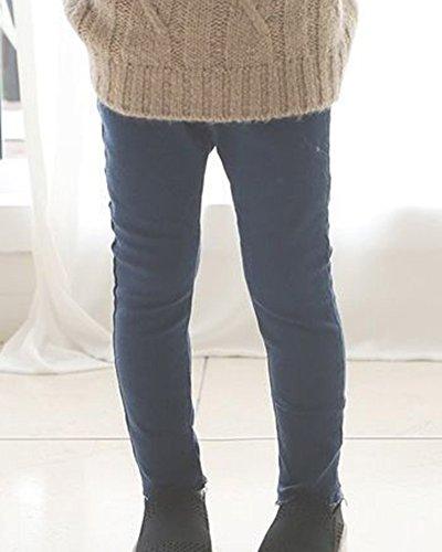 Pantalón Para Flaco Armada Legging De Niñas Largos Elásticos Pantalones Deportivos SPqXxX
