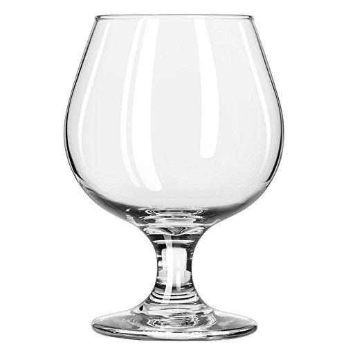Libbey Glassware 3705 Embassy Brandy Glass, 11 oz.-12 oz. (Pack of 24) ()