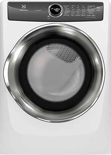 "Electrolux White Front Load Laundry Pair with EFLS527UIW 27"" Washer, EFME527UIW 27"" Electric Dryer and STACKIT7X Stacking Kit"
