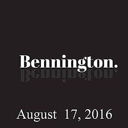 Bennington, August 17, 2016