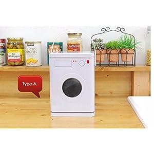 Laundry Detergent Tablets Storage, Washing Powder, Capsules, Pods, Washing Soda Liquitabs Container, Laundry Organizer, Tin Plates, 15.5*15.5*22 cm (3)