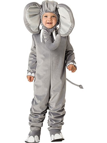 InCharacter Costumes Baby's Lil' Elephant Costume, Grey, Small