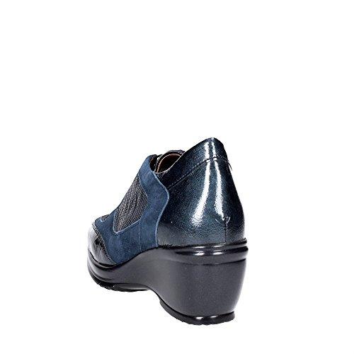 Haute Femme Bleu 9968 Sneakers Sanagens 1wRav