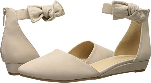 CL by Chinese Laundry Women's Sonje Pointed Toe Flat, Pale Nude Nubuck, 6.5 M US