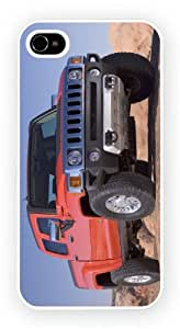 Hummer H3 T Red, iPhone 5 / 5S glossy cell phone case / skin