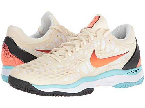 Cage Zoom Tennis Nike Light Cream Shoes black Hyper 3 Crimson Mens pg6xT