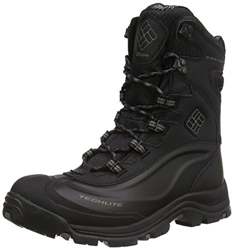 Columbia Men's Bugaboot Plus III Omni Cold Weather Boot, Black/Charcoal, 12 D US (Best Selling Winter Boots)