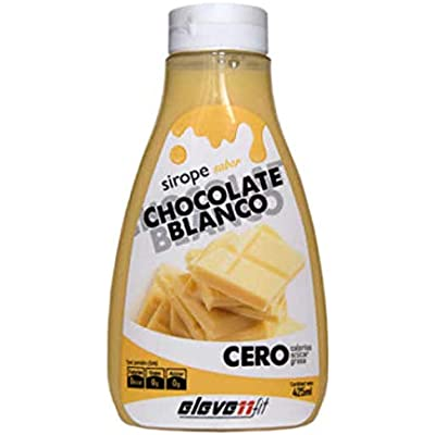 Elevenfit Sirope Elevenfit sabor Chocolate Blanco - 425 ml