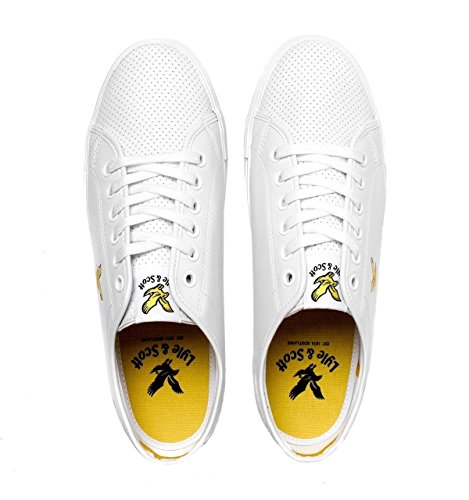 amp; Perforated Whitlock White Scott Trainers Lyle Pwq4YAq