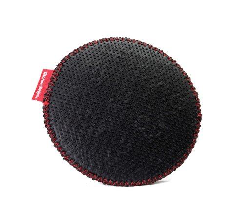 UPC 790652201336, Kitchen Grips Circle Trivet, Black