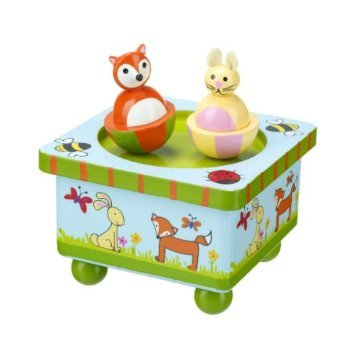 Woodland Friends Wooden Music Box