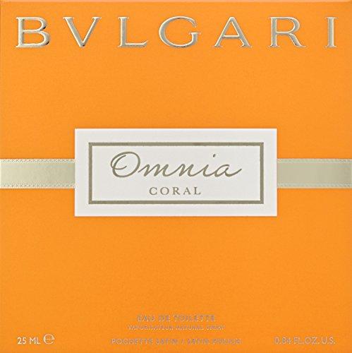 Bvlgari Omnia Indian Garnet Eau De Toilette Spray 0.84 Oz 25 Ml For Women, 6.08 Ounce