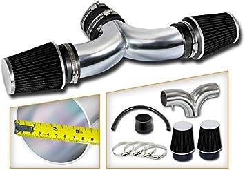Short Ram Air Intake Kit BLACK Filter for 05-10 Grand Cherokee //SRT8 5.7 6.1 V8