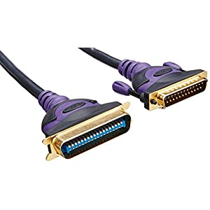 Belkin F2A046-10-GLD A-B Gold Series DB25M/Cent36M 10-Feet Parallel Printer Cable