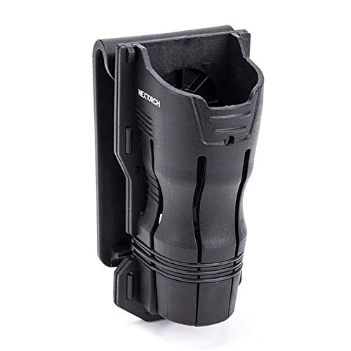 Nextorch V6 Tactical Flashlight Holster 360 Rotation Compatible Holder for 24mm-30mm Diameter Flashlight