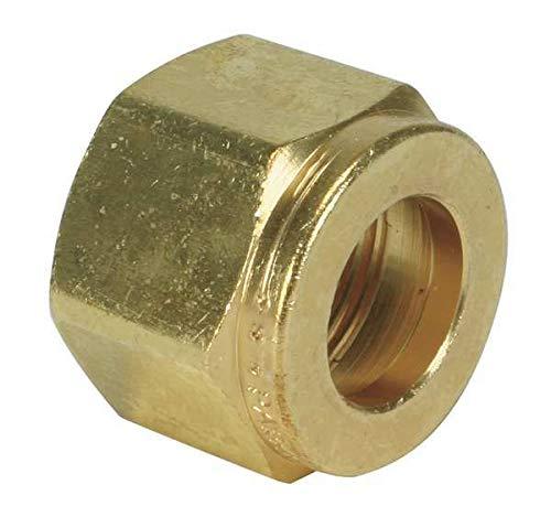 3//4 Compression Brass Nut