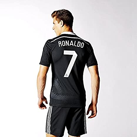 brand new 0d46d 42e37 Real Madrid Ronaldo #7 Away Youth Soccer Jersey with Matching Shorts