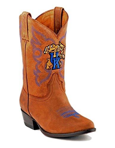 UPC 848676075782, NCAA Kentucky Wildcats Boys Gameday Boots, Honey, 11