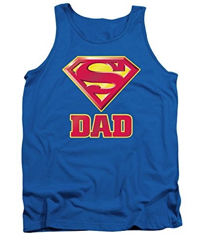 Superman+tank+tops Products : Superman Logo Dads Super Fathers Day Mens Tank Top Shirt