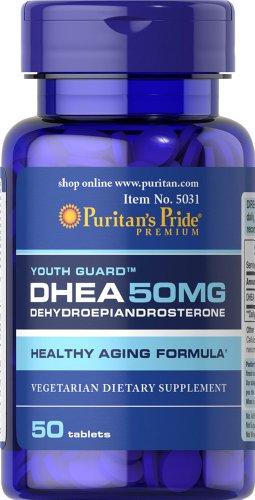 Fierté DHEA 50 mg-50 comprimés de puritains