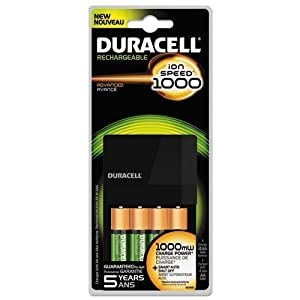 Amazon.com: Duracell Fastest Value Charger with 4 AA