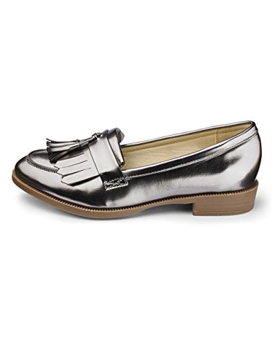 Pewter Be Loafers Sole Simply Fringe Diva Womens wPxYSgdq