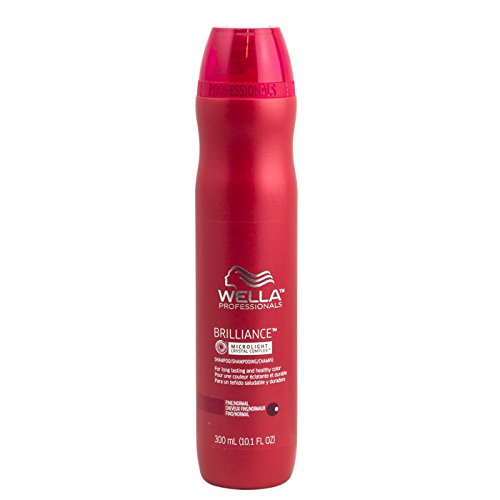 Professional Crystal (Wella Professionals Brilliance MicroLight Crystal Complex Shampoo for Fine to Normal Colored Hair 300ml)